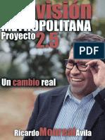 Proyecto 2.5 Una Visión Metropolitana