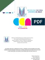 Diapositivas de La Defensa Del Proyecto de Letra II