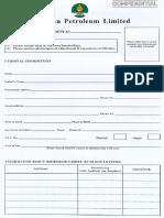 Employment Form PPL