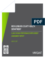 Navigant Clinical Assessment Final Report