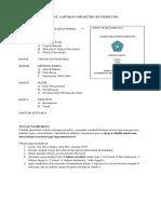 Format Laporan Praktikum Fisiologi
