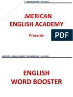 English Word Booster by Vs