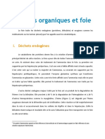 Dechet Organique Et Foie