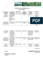 Action Plan in Mathematics-print