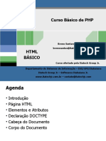 Slide de HTML Básico - Curso de PHP - Itatech