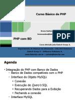 Curso de PHP - Integração do PHP com MySQL