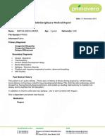 Dr Raoof Medical Report