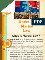 -Under Martial Law