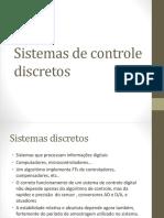Sistemas de Controle Discretos