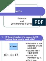 6. WP Perimeter and Circum of Circles