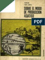 K. Marx y F. Engels.- Sobre el modo de producción asiatico (Recopilación de Godelier).pdf