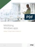 Mobilizing Windows Apps Xenapp 75 Design Guide on Vsphere 55
