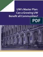 UW's Master Plan