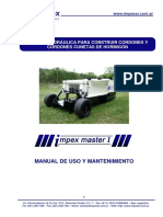 Manual Impex Master I - Entrega