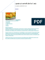 Chifteluţe Cu Peşte Şi Cartofi