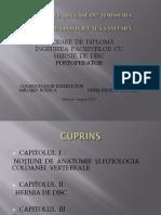 Hernia de Disc Opris Denisa