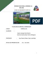 Seundo Informe de Hidraulica