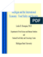 Michigan and the International Economy Food Safety and Security Bourquin