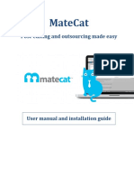 MateCat User Manual and Installation Guide v1.4