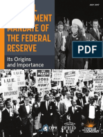 The Full Employment Mandate of the Federal Reserve