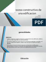 Proceso Constructivo de Una Edificacion