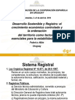 Presentacion Desarrollo Sostenible Uruguay - Federico Albin