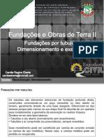 Dimensionamento e Execução de Tubulões PDF
