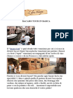 Bacaro Tour in Barca