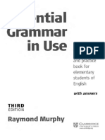 Raymond Murphy-Essential Grammar in Use With Answers_ a Self-Study Reference and Practice Book for Elementary Students of English, 3rd Ed