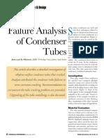 Failure Analysis of Condenser Tubes - MP Dec. 2012