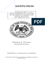 2015 NM State Constitution