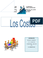los costos conjuntos y comunes