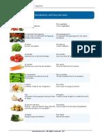 Légumes - Busuu Beginner French A1