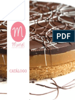 Catálogo Muriel Postres Gourmet 2016