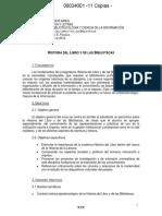 Programa - Historia Del Libro 2ºC 2012