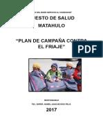 Plan Del Friaje Matahulo