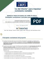 Presentación Final Del Diagnóstico - Campaña de Venta TLMKT NBN - BCP 7 Agosto 2013 - Parte 1