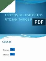 Efectos Del Uso de Los Fitosanitarios Para La Salud, Practica 3 Julio 2017