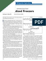 Quick Frozen Fluidized Freezer