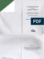 Wilfredo Calderón - La Administración en La Iglesia Cristiana(1)