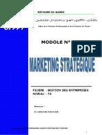 Marketing Stratégique Copie2 TSGE