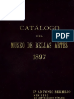 Catálogo MNBA 1897