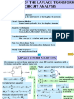 Application of Laplace to Circuits 8 Ed