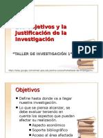 3 _Objetivos y Justificación