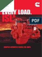 Catalogo Motores ISL Cummins