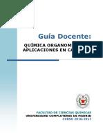 GQ Guia Docente Quimica Organometalica 2016 FINAL