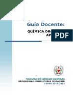 GQ_Guía Docente Quimica Organica Aplicada_2016_FINAL
