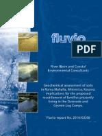 Geochemical assessment of soils in Kosovo