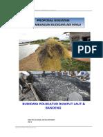 Proposal Budidaya Polikultur (bandeng+rl)