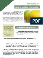 33 ötlet, mire használd a citromolajat